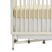 DwellStudio Polka Dot Tassel Crib Skirt