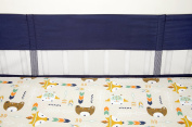Little Love by NoJo Secure-Me Crib Liner, Aztec