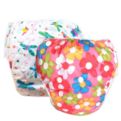 2 Pack Leakproof Reusable Swim Nappies, Kids 0 to 3 years