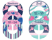 Mumsy Goose Nursery Closet Dividers Girl Whales