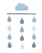 Little Love by NoJo Ceiling Mobile, Happy Little Clouds