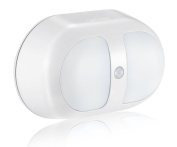 Windspeed Night Light Motion Activated Battery Operated Wall Lights with 10 LED and Dual Sensor for Stairs Bathroom Cabinet