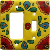 Canary Talavera Toggle-GFI Switch Plate