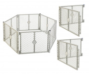 North States Classic Superyard Baby/Pet Gate & Portable Play Yard - 10 Panel