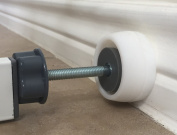 Mini Wall Guard for Pressure Gates ~ Mini Size 2 pack ~ NEW Bottom Wall Guards That Fit Over Wall Trims and Protects Walls ~ Great for Shower Rods ~ Patent Pending Design ~ 100% Satisfaction