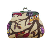 Sunfei ® Fashion Women Lovely Style Lady Small Wallet Hasp Owl Purse Clutch Bag