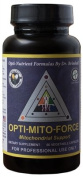 Dr. Brimhall's Opti-Mito ForceTM | contains organic whole food vitamins, minerals and herbs that promote optimal mitochondrial function