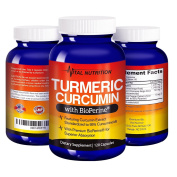 Turmeric Curcumin with BioPerine - #1 Strongest Potency with Greatest Results - 2 Month Supply -Order Risk Free