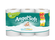 Angel Soft Bath Tissue, 12 Double Rolls Toilet Paper