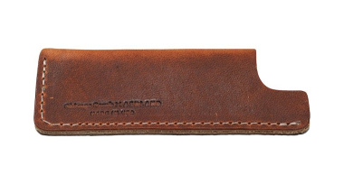 Chicago Comb Leather Sheath, small, English Tan