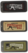 Fisticuffs Moustache Wax 3 Pack by Fisticuffs Moustache Wax