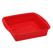 New 7.3×4.1cm Food Grade Silicone Square Bread Cake Mould Baking Pan