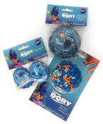 Disney Pixar Finding Dory Cupcake Liners, Cupcake FunPix Toppers and Cupcake Sprinkles Bundle by Wilton