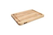 John Boos Prestige Wood Edge Grain Reversible Cutting Board with Juice Groove, 50cm x 38cm x 3.2cm , Maple