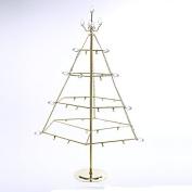 Kurt Adler 60cm Gold Metal Table Ornament Tree