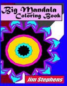 Big Mandala Coloring Book
