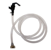 Party Faucet with 1.5m Liquid Line, Beer Nut Assembly by Kegconnection