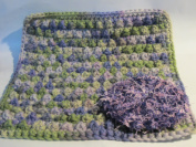 Handmade Crocheted Dishcloth and Scrubbie Set - Jelly / Outside Ohmbre