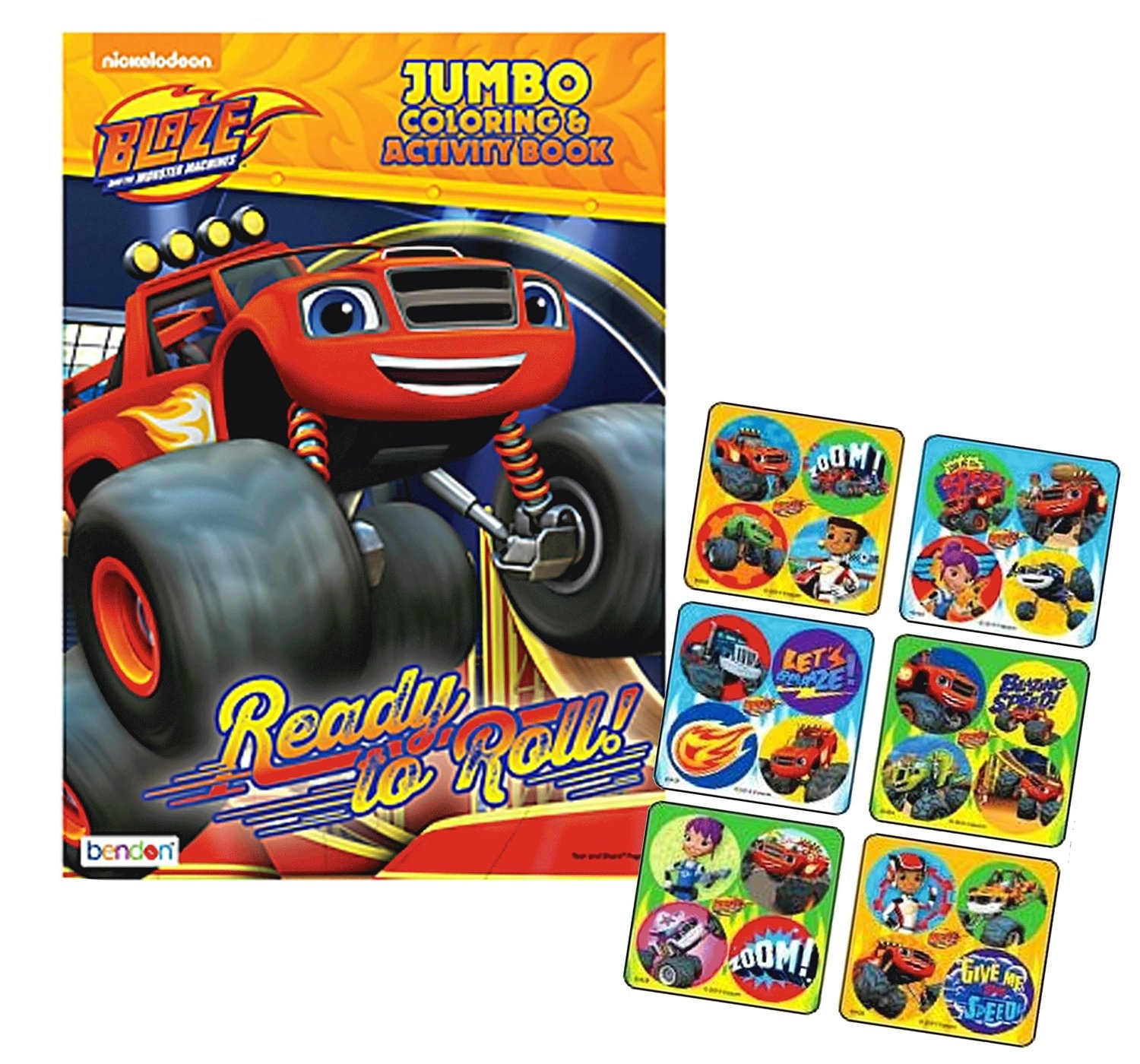 Nickelodeon-Blaze-and-the-Monster-Machines-034-Ready-To-Roll-034-Jumbo-Colouring-and