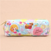 cute colourful mermaid bubble flower fairy tale shimmery pencil case from Japan