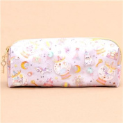 cute colourful horse bear Eiffel Tower star glitter pencil case from Japan