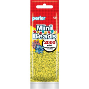 Perler Beads 80-14059 2000 Mini Beads, Yellow