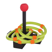 Aoneky Kids Ring Toss Game - Super Safe Foam Family Indoor or Outdoor Quoits Game - Best Gifts for Children