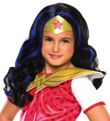 Rubie's Costume Girls DC Super Hero Wonder Woman Wig
