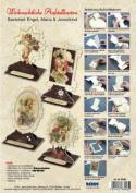 Ecstasy Crafts Christmas Easel Frame Card Kit (4) - Angels, Maria & Jesus