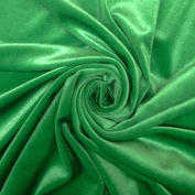 Stretch Velvet Fabric 150cm Wide by the Yard for Sewing Apparel Costumes Craft