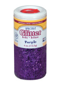 Pacon Spectra Glitter Sparkling Crystals, Purple, 120ml Jar