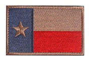 WZT Texas State Flag Patch Morale Patch hook and loop Morale