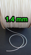 25 YARDS : 1.4 MM WHITE LIFT CORD for Blinds, Roman Shades and More