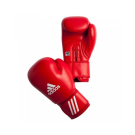 ADIDAS AIBA BOXING GLOVE - RED 12oz