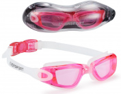 Swim Goggles (2 Pack or 1 Pack), EVERSPORT Swimming Glasses Swim Goggles for Adult Men Women Youth Kids Child, Anti-Fog, UV Protection, Shatter-proof, Watertight ¡