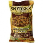 Snyder's of Hanover Pretzel Pieces, Honey Mustard and Onion, 240ml