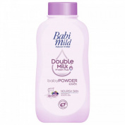 Babi Mild Natural 'N Mild Baby Powder Double Milk Protien Plus