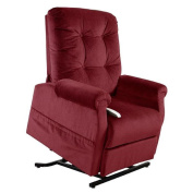 Bass 3-position Reclining Lift Chair (Wine) by Windermere