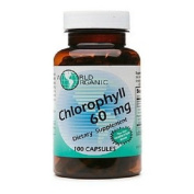 World Organics Chlorophyll, 60 mg, 100 Capsules