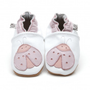 Soft Leather Baby Shoes Ladybird 5-6 years