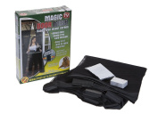 MAGIC DOOR CURTAIN MESH MAGNETIC FASTENING HANDS FREE SCREEN FROM INSECTS FLYS BUGS