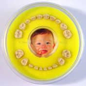 Firsty Round First Tooth Box (Yellow)