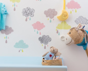 Clouds wall stickers wall stickers Room Decoration-Decoramo for