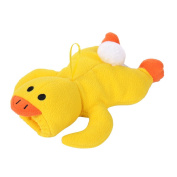 Cute Yellow Duck Baby Cute Milk Bottle Plush Pouch Soft Toy Covers Warm Holders