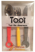Tool Style Childrens Cutlery by JealousBanana