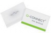 Q-Connect KF01564 Pin Badge 54x90mm