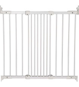 BabyDan Super Flexi Fit Metal Extending Gate - White Can Extended from 67 cm to 105.5 cm and 73cm High