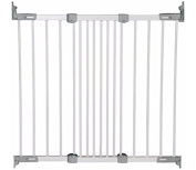 BabyDan Super Flexi Fit Safety Gate - White.Fits openings from 67 to 105.5cm.
