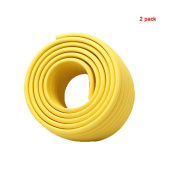 Andyshi Baby Childproof Furniture Safety Protective Corner Edge Protector W-shaped Corner Bumper Strip(2 pack) Yellow