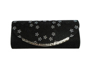 XPGG Women Shoulder clutch Snowflake pattern Bags Evening Bag for Flashing appearance Party Bag 026